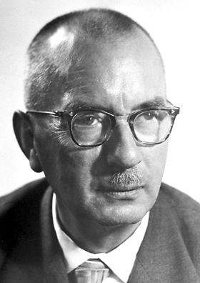 Portraitfoto von Karl Waldemar Ziegler