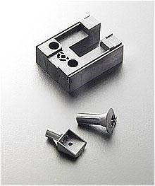 Selbstverstärkend  sind diese präzisen Aufnahmen für Sensoren, hergestellt aus Vectra (LCP) für ein Messgerät von SARTORIUS